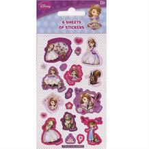 Sofia the First Party Bag Favour Sticker Sheets