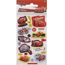 Disney Cars Party Bag Favour Sticker Sheets