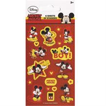 Mickey Mouse Party Bag Favour Sticker Sheets