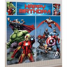 Marvel Avengers Giant Scene Setter Party Decoration
