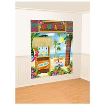 Hawaiian Tiki | Luau Party 6ft Giant Scene Setter Party Decoration