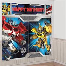 Transformers Giant Scene Setter Party Decoration