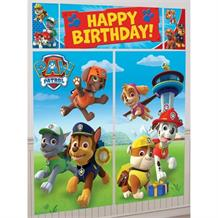 Paw Patrol Giant Scene Setter Party Decoration