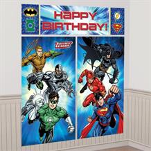 Justice League Giant Scene Setter Party Decoration
