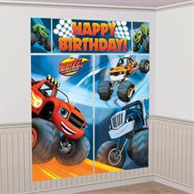 Blaze & the Monster Machines Scene Setter Party Decoration