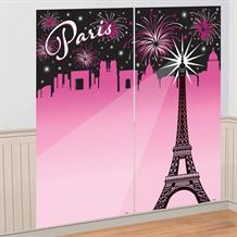 A Day in Paris Giant Scene Setter Party Decoration