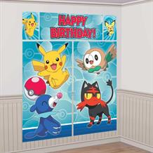 Pokemon | Pikachu 2017 6ft Giant Scene Setter Party Decoration