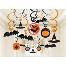 Halloween Party Hanging Swirl Decorations