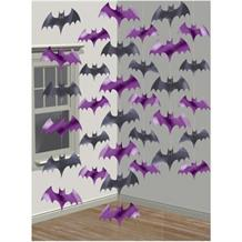 Bat Shaped Hanging String Party Decorations