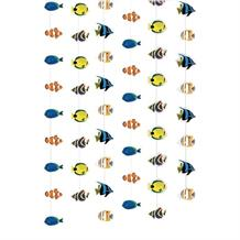 Tropical Fish | Coral Reef | Clown Fish Hanging String Party Decorations