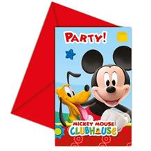 Mickey Mouse Playful Party Invitations | Invites