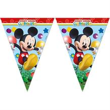 Mickey Mouse Playful Party Flag Banner | Bunting | Decoration