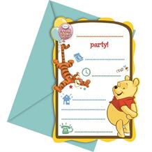 Winnie the Pooh Party Invitations | Invites