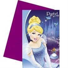 Cinderella Party Invitations | Invites with Envelopes