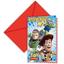 Toy Story Buzz | Woody Party Invitations | Invites