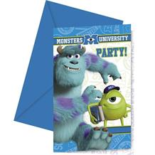 Monsters University Party Invitations | Invites