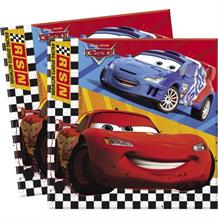 Disney Cars RSN 33cm Paper Party Napkins | Serviettes | Tissues