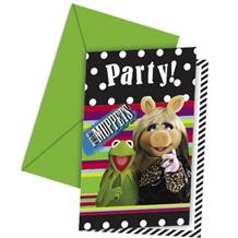 The Muppets Party Invitations | Invites