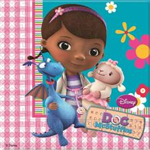 Doc McStuffins Party Napkins | Serviettes
