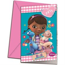 Doc McStuffins Party Invitations | Invites