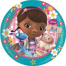 Doc McStuffins Party Cake Plates
