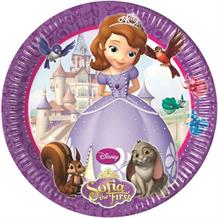 Sofia the First Party Cake Plates
