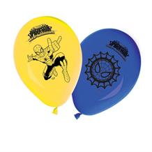 Ultimate Spiderman Web Warriors Party Latex Balloons
