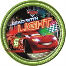 Disney Cars Neon Party Cake Plates