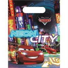 Disney Cars Neon Party Favour Loot Bags