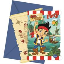 Jake Neverland Pirates Party Invitations | Invites