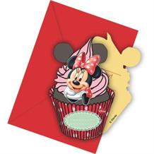 Minnie Mouse Cafe Party Invitations | Invites