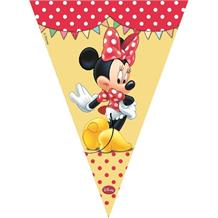 Minnie Mouse Cafe Party Flag Banner | Bunting | Decoration
