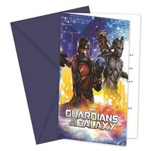 Guardians of the Galaxy Party Invitations | Invites