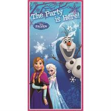 Disney Frozen Anna, Elsa and Olaf Party Is Here Door Banner 165 x 80cm