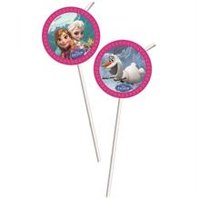 Disney Frozen Party Drinking Straws