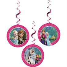 Disney Frozen Party Hanging Swirl Decorations