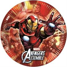 Marvel Avengers Heroes Party Plates