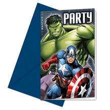 Marvel Avengers Party Invitations | Invites