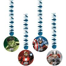 Marvel Avengers Party Hanging Cutout Decorations