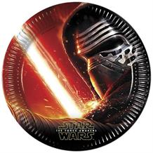Star Wars Ep7 Party Plates