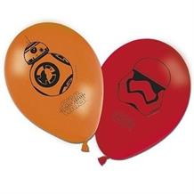 Star Wars Ep7 Party Latex Balloons