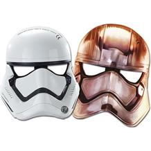 Star Wars Ep7 Storm Trooper Party Favour Masks