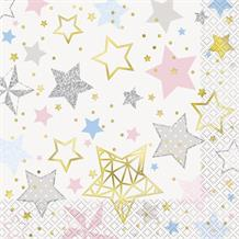 Twinkle Twinkle Little Star Party Napkins | Serviettes