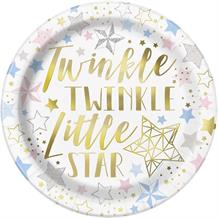 Twinkle Twinkle Little Star Party 23cm Party Plates