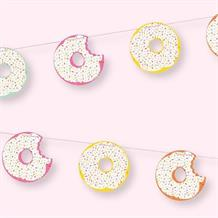 Doughnut | Donut Sprinkles Party Ribbon Banner | Decoration