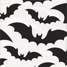 Black Bats | Halloween Party Tablecover | Tablecloth