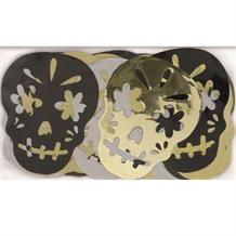 Metallic Skull | Halloween Party Table Confetti | Decoration