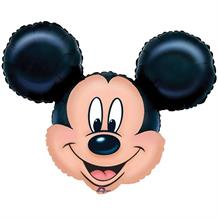 Mickey Mouse Head Shaped Foil | Helium Balloon