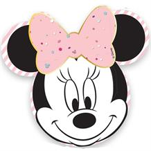 Minnie Mouse Shaped Platter Party Plates