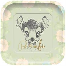 Bambi Cute Square Platter Party Plates